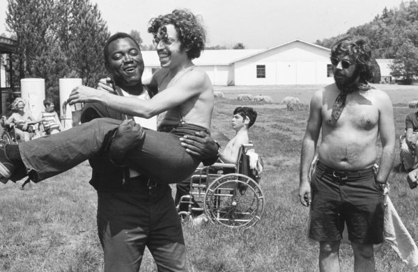 Photo of summer camp for disabled youth